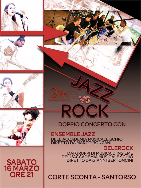JAZZ vs ROCK - doppio concerto